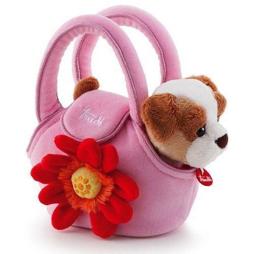 Zestaw małej księżniczki, piesek i torebka, 29728-Trudi, zabawki dla dziewczynek, torebki dla dzieci