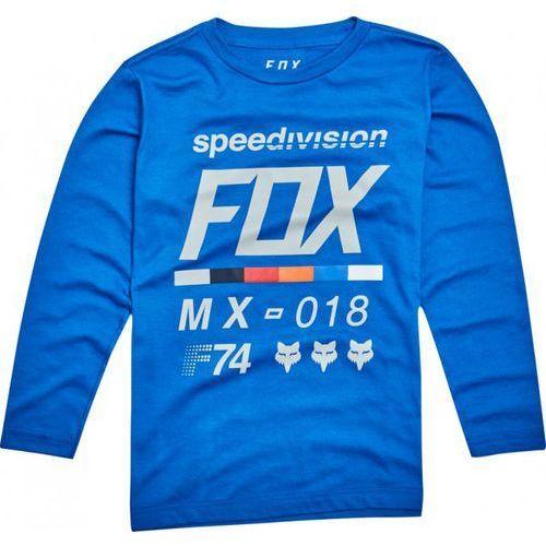 Fox junior draftr blue koszulka z długim rękawem marki Fox_sale
