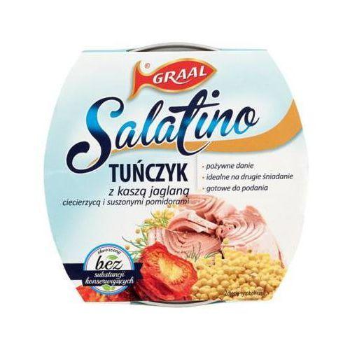 Graal 160g salatino tuńczyk z kaszą jaglaną, ciecierzycą i suszonymi pomidorami