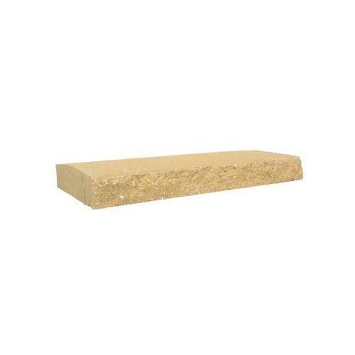 Przykrycie cokołu 50 x 30 x 6 cm betonowe dwustronnie łupane skała lubuska marki Ziel-bruk