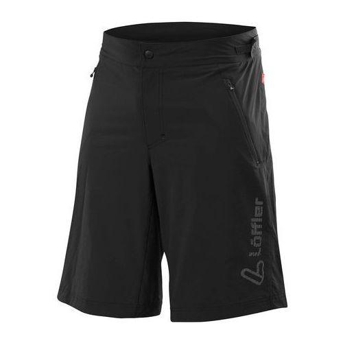 montano csl spodnie rowerowe mężczyźni czarny 46 2018 spodenki rowerowe marki Löffler