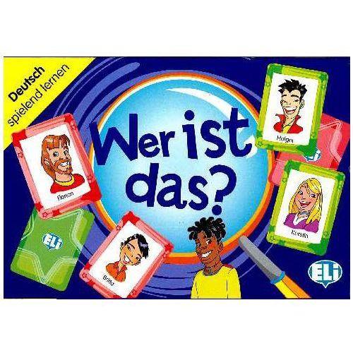 Gra językowa niemiecki Wer ist das?. Opr. karton, praca zbiorowa