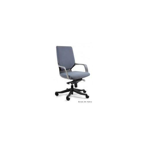 Krzesło biurowe Apollo M czarny/ szary, kolor szary