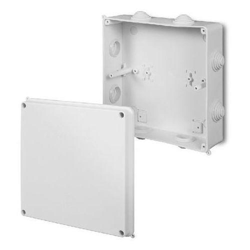 Elektro-plast nasielsk Puszka natynkowa hermetyczna pusta 196x196x78mm ip55 biała pk-8 0231-00 elektro-plast (5901130480272)