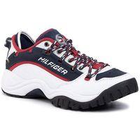Sneakersy TOMMY JEANS - Heritage Sneaker EM0EM00374 Rwb 0K5