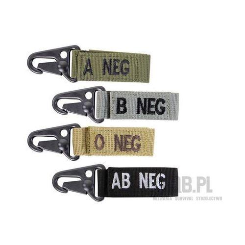 Brelok Condor z grupą krwi AB- Blood Key Chain Tan 239AB-003, CO239AB-003