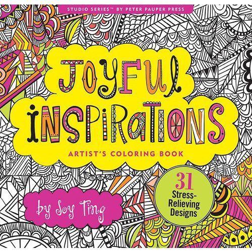Kolorowanka artystyczna Radosne Inspiracje