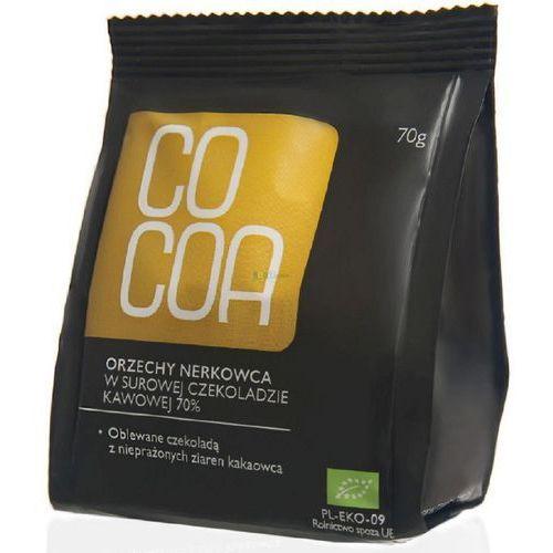 Orzechy nerkowca w surowej czekoladzie bio 70g - marki Cocoa