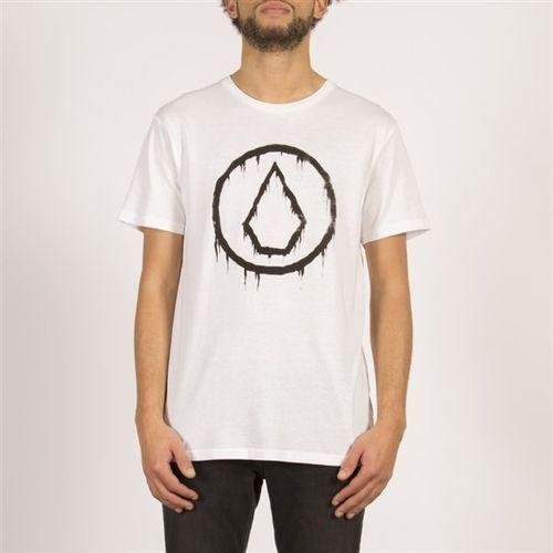 koszulka VOLCOM - Sludgestone Bsc Ss White (WHT) rozmiar: XL