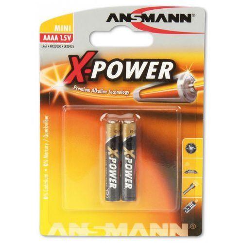 bateria alkaliczna x-power aaaa (mini) darmowy odbiór w 19 miastach! marki Ansmann