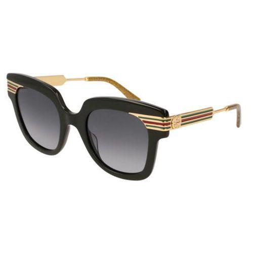 Okulary Słoneczne Gucci GG 0281S 001, kolor żółty