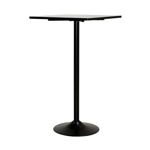 Stolik barowy itop, 60x60 cm, czarny, matowy, mdf, 95614-11 marki Interstil