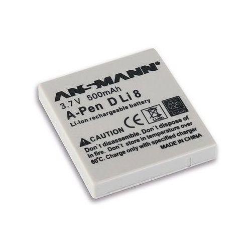 Akumulator do pentax a-pen d-li 8 (500 mah) marki Ansmann
