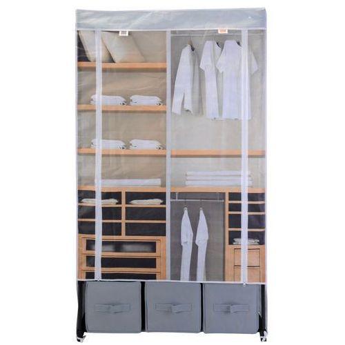 Emako Szafa na ubrania, składana garderoba, 160x88x50cm (8718158497956)