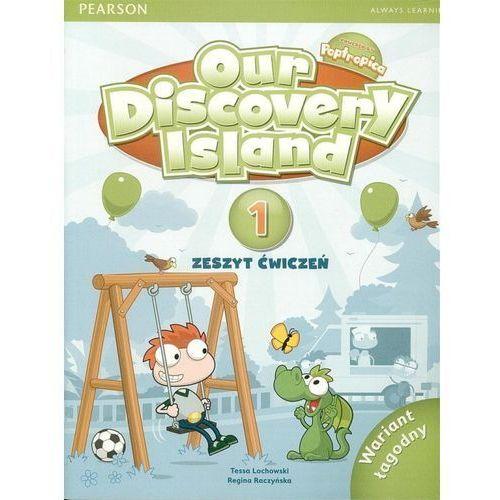 Our Discovery Island 1. Ćwiczenia + CD-ROM. Wariant Łagodny (Do Wersji Wieloletniej), oprawa miękka