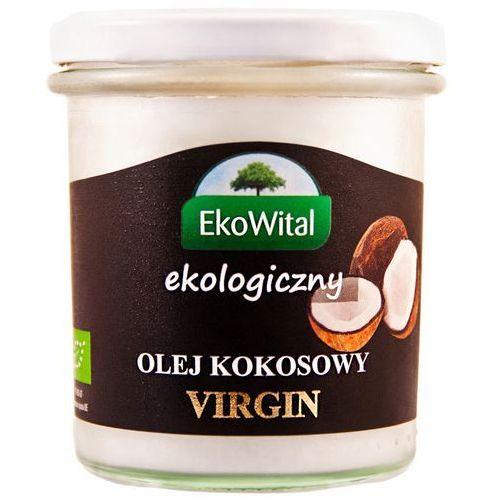 Olej kokosowy virgin bio 240 g ekowital marki Eko wital