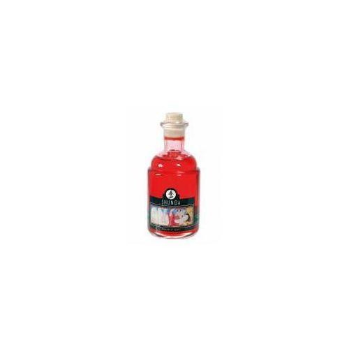 Rozgrzewający olejek do masażu shunga blazing cherry 100ml marki Iroha by tenga (jap)