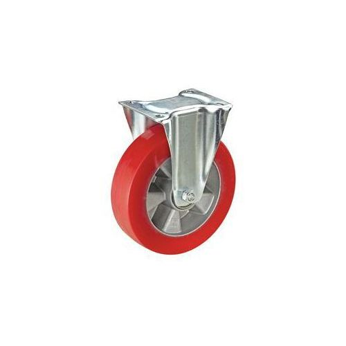Ogumienie z poliuretanu na feldze aluminiowej,Ø x szer. kółka 125 x 40 mm marki Wicke