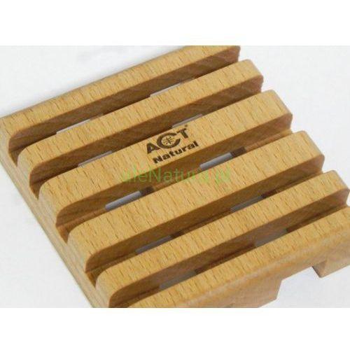 ACT NATURAL mydelniczka z drewna bukowego wym. 9x9cm, ACT-1140
