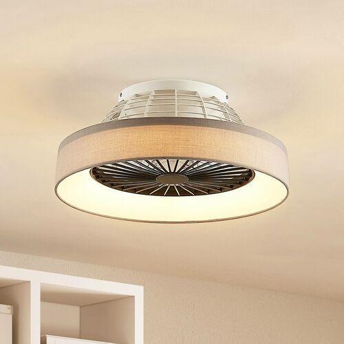 Lindby Circuma wentylator sufitowy LED, szary (4251911704860)
