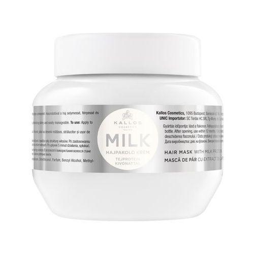 kjmn maska do włosów odżywcza z proteinami mleka milk 275 ml marki Kallos