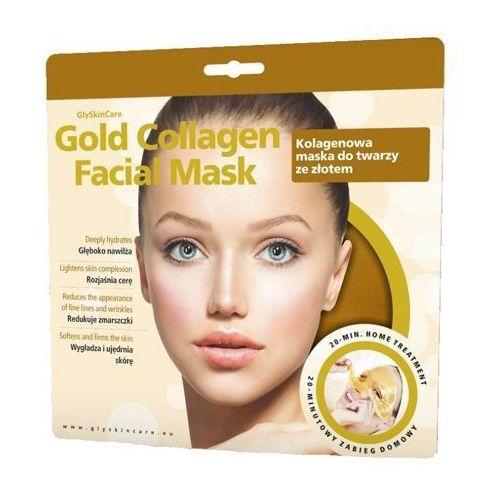 gold collagen facial mask - kolagenowa maska ze złotem do twarzy x 1 sztuka marki Glyskincare