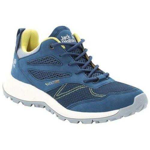woodland vent buty kobiety, blue/lemon uk 4,5 | eu 37,5 2020 buty turystyczne marki Jack wolfskin