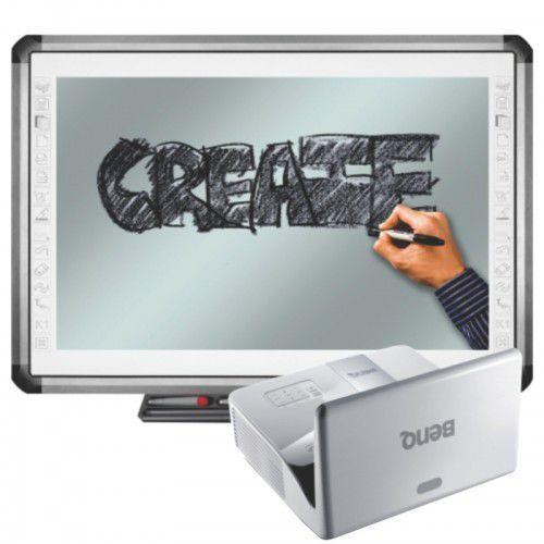 Tablica TruBoard R5-900E + projektor ultrashort MW843UST z uchwytem