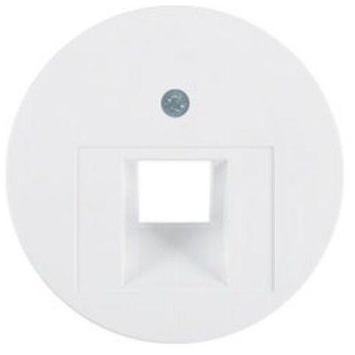 r1/r3 biały - płytka do gniazda teleinformatycznego marki Berker