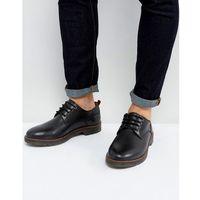 Kg by kurt geiger marston lace up shoes black leather - black marki Kg kurt geiger