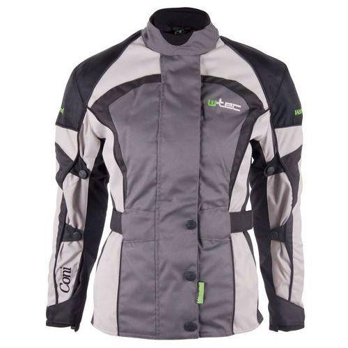 Damska kurtka motocyklowa W-TEC Coni, Szary, XL, kolor szary