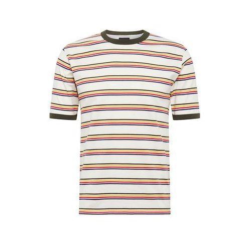 DICKIES Koszulka 'New Paltz' kremowy / żółty / zielony