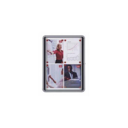 Gablota wewnętrzna 9 x A4 suchościeralna (drzwi wahadłowe)