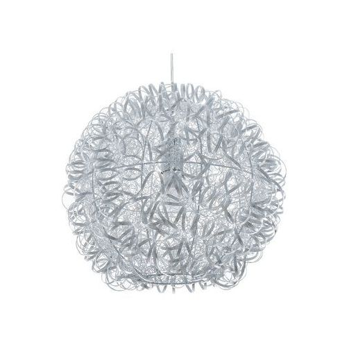 Lampa wisząca srebrna MALAS, kolor Srebrny