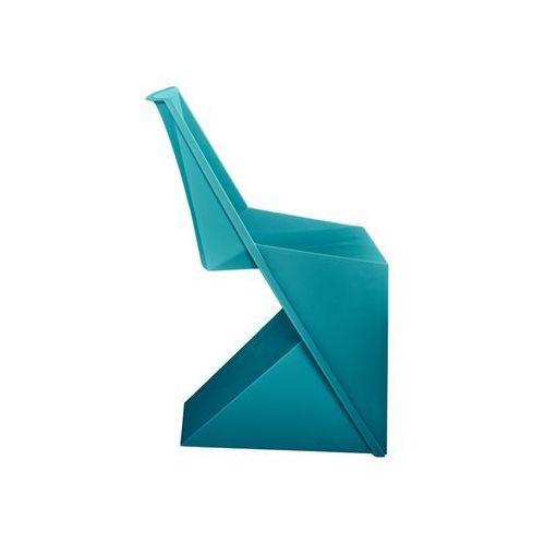 D2 Designerskie krzesło z tworzywa sztucznego flato