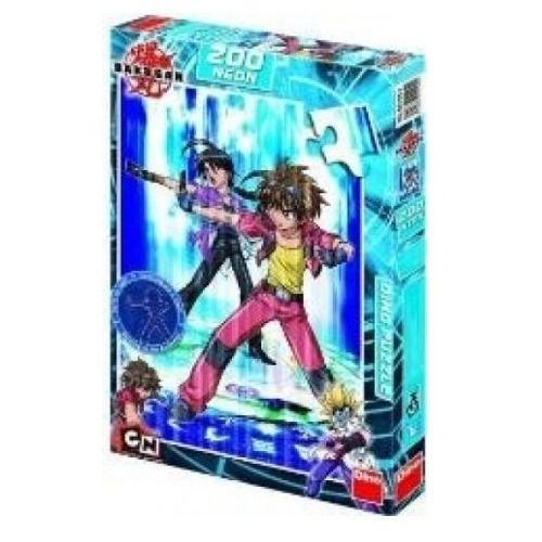 Dino toys Puzzle 200 bakugan dan and shun neon dino (8590878421042)