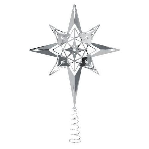 Gwiazda na choinkę Rosendahl Karen Blixen 23 cm srebrna, 31616