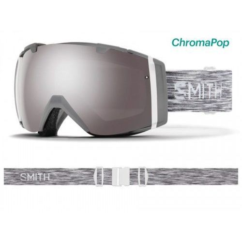 Gogle Smith I/O Cloudgrey Chromapop Sun Platinum Mirror & Chromapop Storm Rose Flash