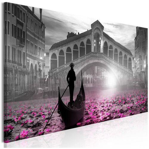 Obraz - Magiczna Wenecja (1-częściowy) wąski szary