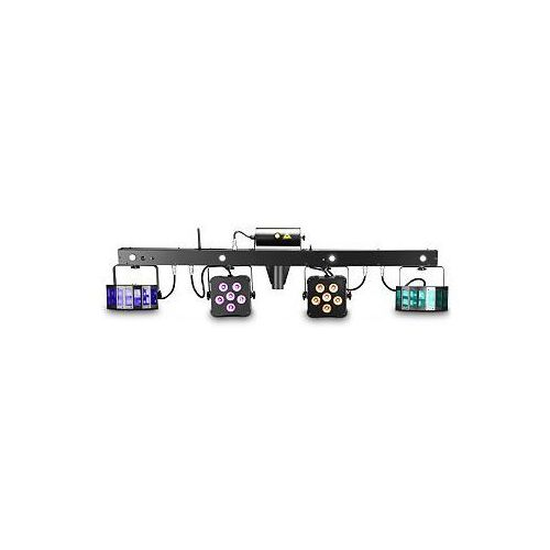 Cameo Light Multi FX Bar - All-In-One Solution with 5 Lighting Effects for Mobile DJs, Entertainers and Bands, zestaw oświetleniowy