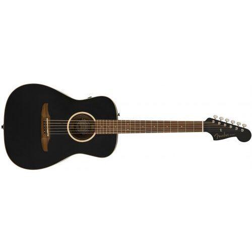 Fender Malibu Special, Pau Ferro Fingerboard, Matte Black w/bag gitara elektroakustyczna
