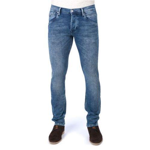 jeansy męskie track 30/34 niebieski, Pepe jeans