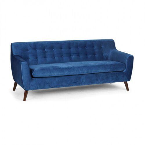 Komplet wypoczynkowy nordic, 3 miejsca, niebieski marki B2b partner