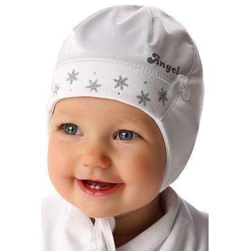 Czapka niemowlęca biała 5X34A1