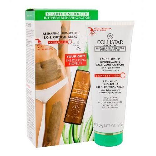 Collistar special perfect body reshaping mud-scrub zestaw peeling do ciała 350 g + dwufazowe serum ujędrniające 50 ml dla kobiet (8015150253253)