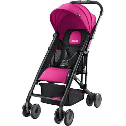 RECARO Wózek sportowy Easylife Pink, czarny stelaż (4031953050015)