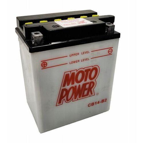 Akumulator motocyklowy moto power cb14-b2 yb14-b2 12v 14ah 190a en l+ marki Yuasa