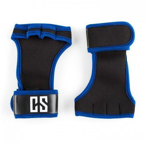 Capital sports Palm pro rękawiczki do podnoszenia ciężarów wielkość l czarne/niebieskie