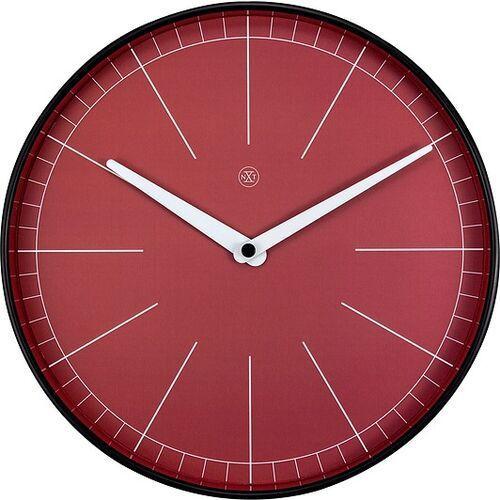 Zegar ścienny czerwony Axel nXt 25 cm (7323) (8717713024859)