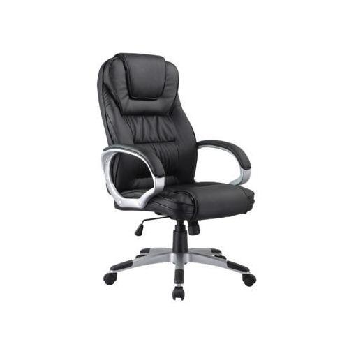 Fotel obrotowy, krzesło biurowe q-031 black marki Signal